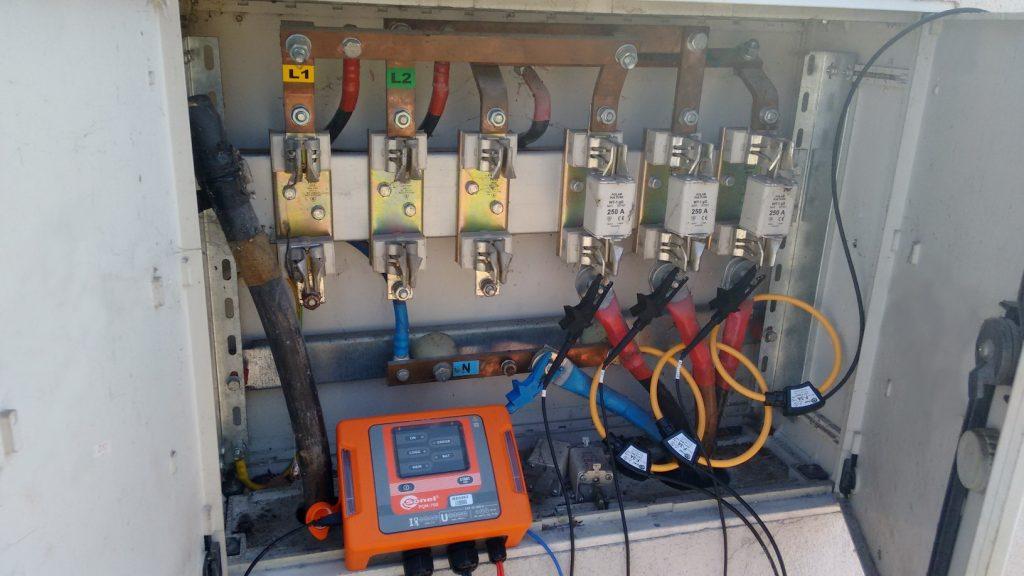 stacja-transformatorowa-transformatorowa-modernizacja-salwis-pomiary-bateria-kondensatorów