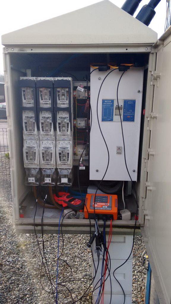 Salwis stacja słupowa transformatorowa