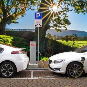 Stacja ładowania samochodów elektrycznych dla Firmy
