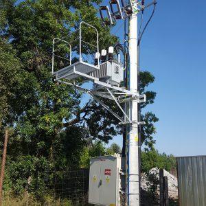 Stacja transformatorowa słupowa SN/nN
