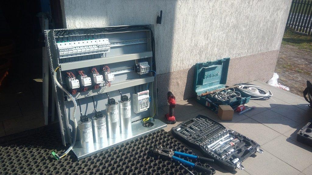 Modernizacja baterii kondensatorów