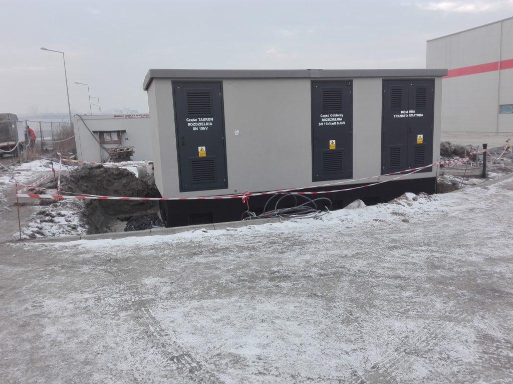 Stacja transformatorowa kontenerowa