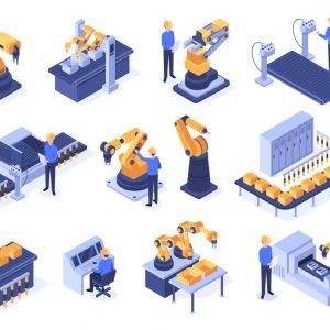 Roboty przemysłowe – na co zwrócić uwagę?