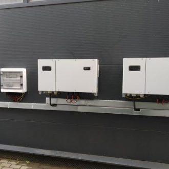Montaż falowników oraz instalacji AC