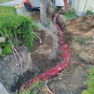 Realizacja linii kablowej 15kV