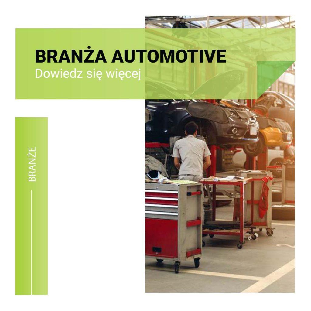 automotive branże które realizujemy