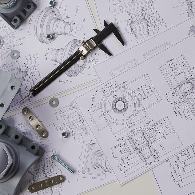 projekt maszyny przemysłowej